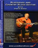 Bluegrass and Country Blues Guitar DVD Sheet Music