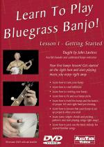 Learn to Play Bluegrass Banjo, Lesson 1 Get Started DVD Sheet Music