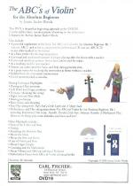 The Abcs Of Violin For The Absolute Beginner DVD - MERCHANDISE Sheet Music