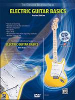 Ultimate Beginner Series Mega Pak: Electric Guitar Basics Mega Pak (Revised Edition) - Book, CD & DV Sheet Music