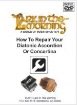 How to Repair Your Diatonic Accordion or Concertina DVD Sheet Music