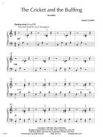 The Cricket And The Bullfrog Sheet Music