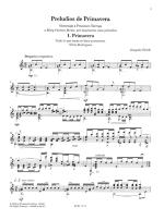 Joaquin Clerch: Preludios De Primavera Sheet Music