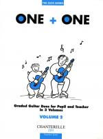 One + One Vol. 2 Teacher's Score Duos For Pupil & Teacher Sheet Music