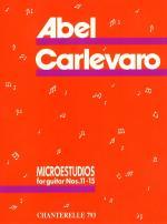 Carlevaro: Microestudios Volume 3, Nos 11-15 Sheet Music