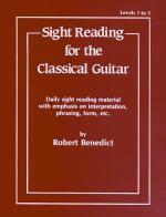 Sight Reading For The Classical Guitar, Level I-III (Daily Sight Reading Material With Emphasis On I Sheet Music