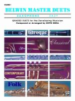 Belwin Master Duets (Saxophone), Easy Volume 1 - Book Sheet Music