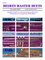 Belwin Master Duets (Clarinet), Advanced Volume 2 - Book Sheet Music