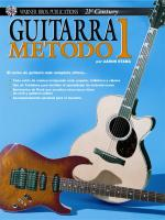 21st Century Guitar Method 1 (Spanish Edition) - Book Sheet Music