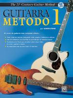 21st Century Guitar Method 1 (Spanish Edition) - Book & CD Sheet Music