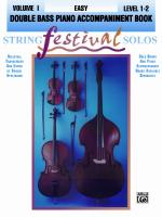 String Festival Solos, Volume I Sheet Music