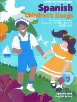 Spanish Children's Songs, Book 1 Sheet Music