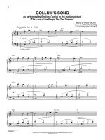 Gollum's Song (from The Lord of the Rings: The Two Towers) - Sheet Music Sheet Music