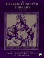 The Classical Guitar Library, Volume I - Book Sheet Music