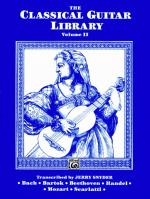 The Classical Guitar Library, Volume II - Book Sheet Music