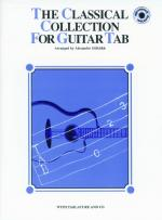 The Classical Collection for Guitar TAB - Book & CD Sheet Music