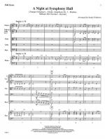 A Night At Symphony Hall - SCORE AND PART(S) Sheet Music
