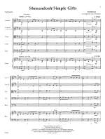 Shenandoah/Simple Gifts - SCORE AND PART(S) Sheet Music