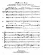 A Night At The Opera - SCORE AND PART(S) Sheet Music