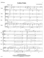 Golden Fields - SCORE AND PART(S) Sheet Music