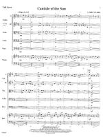 Canticle Of The Sun - SCORE AND PART(S) Sheet Music
