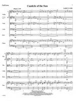 Canticle Of The Sun - FULL SCORE - LARGE Sheet Music