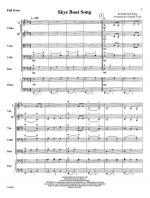 Skye Boat Song - FULL SCORE - LARGE Sheet Music