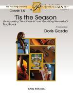 tis The Season - (Incorporating Deck The Halls And Good King Wenceslas) FULL SCORE - STUDY Sheet Music