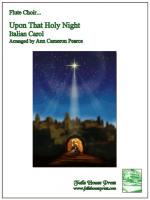 Upon That Holy Night (Italian Carol) Sheet Music