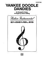Yankee Doodle Dandies Sheet Music