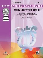 Minuetto in C - Part(s) Sheet Music