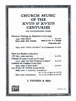 Missa Secunda - Book Sheet Music
