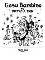 Gesu Bambino - Sheet Music Sheet Music