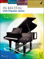 In Recital With Popular Music, Book 4 Sheet Music