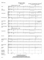 Swan Lake (Theme) - SCORE AND PART(S) Sheet Music