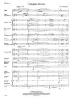 Olympian Pursuit - FULL SCORE - LARGE Sheet Music