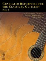 Graduated Repertoire For The Classical Guitarist, Book 1 Sheet Music