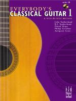 Everybody's Classical Guitar 1 A Step By Step Method Sheet Music