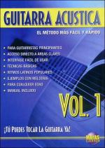 Guitarra Acustica Vol. 1, Spanish Only DVD (You Can Play the Guitar Now! Acoustic Guitar Vol. 1) Sheet Music