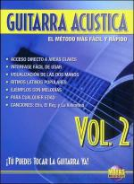 Guitarra Acustica Vol. 2, Spanish Only DVD (You Can Play the Guitar Now! Acoustic Guitar Vol. 2) Sheet Music