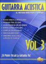 Guitarra Acustica Vol. 3, Spanish Only DVD (You Can Play the Guitar Now! Acoustic Guitar Vol. 3) Sheet Music