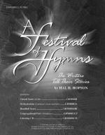 A Festival of Hymns: The Writers Tell Their Stories - Score Sheet Music