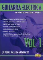 Guitarra Electrica Vol. 1, Spanish Only DVD (You Can Play the Guitar Now! Electric Guitar Vol. 1) Sheet Music