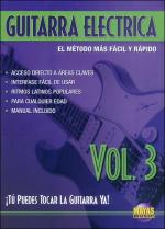 Guitarra Electrica Vol. 3, Spanish Only DVD (You Can Play the Guitar Now! Electric Guitar 3) Sheet Music