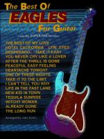 The Best of Eagles for Guitar - Book Sheet Music