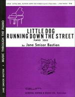 Little Dog Running Down The Street Sheet Music Sheet Music