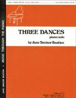 Three Dances Sheet Music Sheet Music