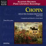 Chopin Selected Works For Piano, Book1 Sheet Music