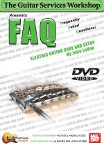 FAQ: Electric Guitar Care and Setup DVD Sheet Music