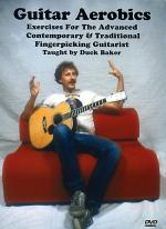 Guitar Aerobics DVD (Exercises For The Advanced Contemporary & Traditional Fingerpicking Guitarist) Sheet Music